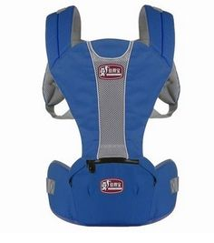 100 Cotton Cute Design Hip Seat Baby Carrier Front and Back Carrier with Waist Stool Blue -- See this great product.-It is an affiliate link to Amazon. #BabyCarrier
