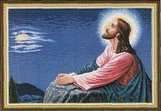 Jesus - 1/7 Solo Patrones Punto Cruz (pág. 282) | Aprender manualidades es facilisimo.com