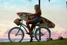 surfing - biking - loving summer