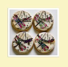 Dragonfly Cookies     Kim Coleman     https://www.facebook.com/Sugarrushcustomcookies