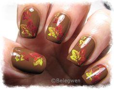 Nail Art by Belegwen: Syksyä kynsilläkin