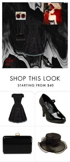 """""""black tie(kinda)"""" by sappysunflower ❤ liked on Polyvore featuring beauty, CO, Funtasma, Sergio Rossi and Scala"""
