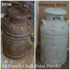 Painting RUSTY Metal