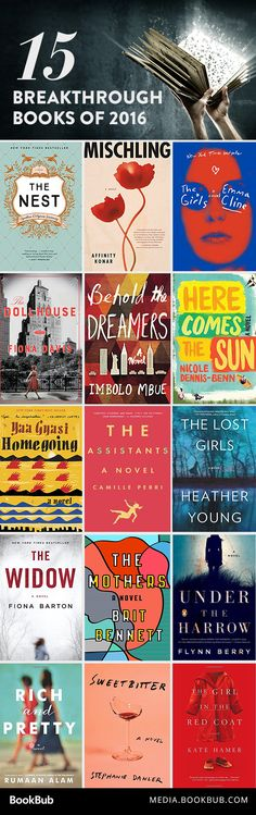 A great list of 15 must-read breakthrough books of 2016.