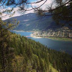 Sunday hike to #pulpitrock #Nelsonbc #Canada #bridge