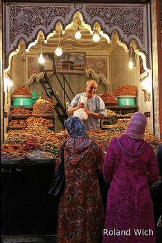 Sweets Shop - Marrakech, Morocco, Africa