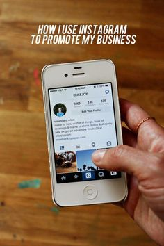Awesome post from /elise/ blaha cripe about how she uses instagram to promote her business