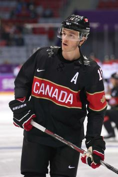 JT in the black Canada jersey - why does Canada have black jerseys?
