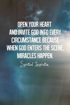 Open your heart <3