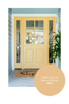 I'm all about the big curb appeal with it comes to the outside of a home! Read to see my ultimate 7 favorite front door paint colors! Best Front Door Colors, Yellow Front Doors, Best Front Doors, Front Door Paint Colors, Painted Front Doors, Colored Front Doors, Painted Exterior Doors, Exterior Paint Colors For House, Paint Colors For Home
