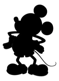 mickey and minnie silhouettes | Limited Edition Mickey Cruiser from Huffy