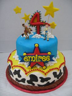 toy story 2 cake toppers