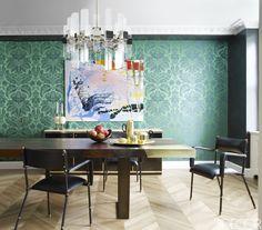 In New York fashion designer Giovanna Randall's Manhattan home,   Contemporary Decor   Luxury Design   Modern Design   Unique Design   Boca do Lobo   Find amazing furniture in www.bocadolobo.com