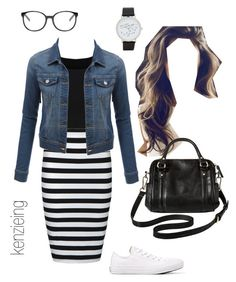 """""""OOTD"""" by kenzieing on Polyvore featuring Ally Fashion, Converse, LE3NO, ALDO, Chloé, Merona, modestishottest and ApostolicFashion"""