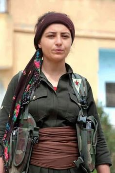 Kurdish Freedom Fighter-Rojava-YPJ-Kurdistan