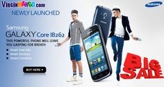 Buy Samsung Galaxy Core I8262-Blue Online in India at Best Price