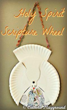Holy Spirit Scripture Wheel - Catholic Playground
