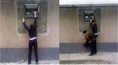 6 gambar ATM lucu ini bikin kamu ketawa sendiri