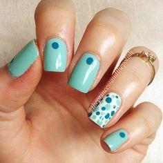 theprincessandthepolish #nail #nails #nailart Beginner Nail Designs, Plain Nails, Art Addiction, Diy Manicure, Fabulous Nails, Accent Nails, Easy Nail Art, Mani Pedi, Nail Tips