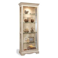 Philip Reinisch Co. Color Time Ambience Display Cabinet, Sandshell