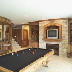 Lovely Pool Table! - Plan 051S-0053 | houseplansandmore.com