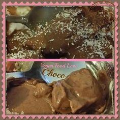 Selfmade Vegan Choco Ice cream #veganlove #vegan #veganfoodlove #icecream #veganicecream #selfmadeicecream #chocolate #choco #bananas Vegan Food, Vegan Recipes, Vegan Ice Cream, Chocolate, Bananas, Pudding, Desserts, Tailgate Desserts, Deserts