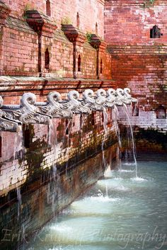 Instagram.com/architectshurajz for more. Dhunge_Dhara  is a traditional stone water tap found extensively inNepal....also known as thejahrusKathmandu, Nepal