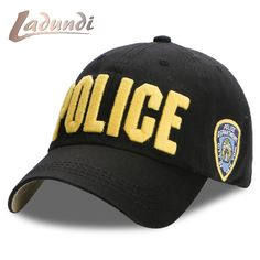 Cora Wang POLICE Baseball Cap for Men Navy Cotton Gorras Hat Snapback Dad  Cap Unisex bone trucker touca inverno cappelli hip hop c011a93b2058