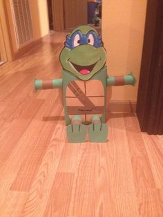 Teenage Mutant Ninja Turtle Valentine Box