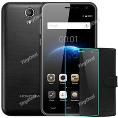 """HOMTOM HT3 PRO 5\"""" HD MTK6735P Quad-core Android 5.1 4G Phone + Protective PU Leather Case + Screen Protector KB-512660"""