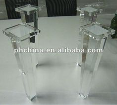 furniture legs acrylic lucite. Atl-008 Tapered Acrylic Furniture Leg,Clear Stool Leg,Lucite Bench Leg,Acrylic Ottoman Leg - Buy Legs Lucite