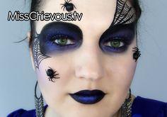 Spider Queen Look for Halloween by MissChievous