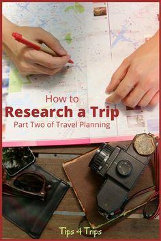 Travel planning guid