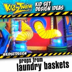 props from laundry baskets. Share your tips tricks & ideas: #kidsetdesign    - INSTAGRAM VIDEO - (click to play) -   for full description follow the Instagram Link -