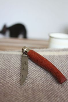 Vintage French 'OPINEL' Knife  I have had one of these for YEARS. I love it.