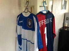 Heritage shirts, Genoa & Huelva