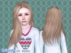 Skysims Hair CHild 215