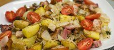 Porchetta egytálétel • TV Paprika Potato Salad, Potatoes, Tv, Ethnic Recipes, Food, Potato, Meals, Yemek, Television Set