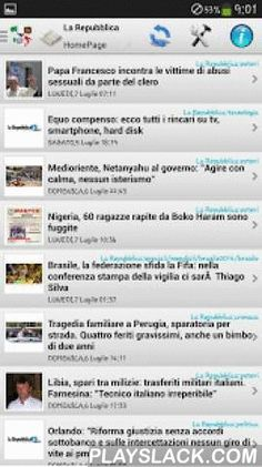 "Italy News NewsPapers  Android App - playslack.com , Various news feed from Italy from many categories like News, Newspapers, Technology, Local, Cooking, Woman, Astrology, Local, Magazines, Music ...Included Sites :""Altrenotizie"",""Si24"", ""Il Post"",""Il Tempo"", ""Ansa.it"",""Panorama"", ""Tiscali"",""Leonardo.it"", ""AdnKronos"",""UniMondo"",""TM News"", ""PMI-dome"",""Affaritaliani"", ""agi.it"",""Il Sussidiario"", ""ItalPress"",""Rai News"", ""IVG.it"",""ASCA.it"", ""Altopascio""""Italiaglobale"", ""EMMEGI PRESS"",""DIRE""…"