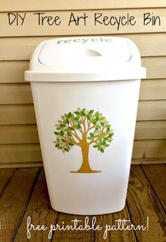 DIY Tree Art Recycle