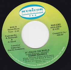 """45vinylrecord Only Love Can Break A Heart/If I Ruled The World (7""""/45 rpm) MUSICOR http://www.amazon.com/dp/B00KSV3RI8/ref=cm_sw_r_pi_dp_JSmGvb0051SJT"""