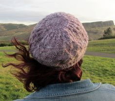A shallow but slouchy hat pattern with Latvian Braids and Cables providing visual interest. The pattern has both charts and full written instructions. A deeper, even slouchier version can be also knitted. Pattern Library, Ravelry, Knitted Hats, Knit Crochet, My Design, Knitting, Creative, Crafts, Inspiration