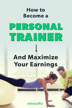 Personal trainers play an invaluable role in the health and fitness of people who don't naturally enjoy working out. If you're passionate about helping people transform their relationship with the gym, then learn what it takes to become a personal trainer. |Personal Trainer| Get Fit| Fitness| Health Goals| Health| Healthy Living|