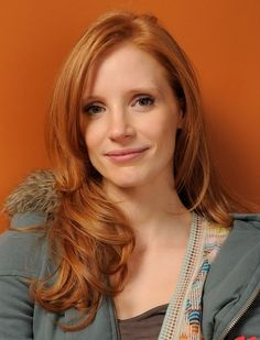 Dare to Go Red: Photos of Gorgeous Red Hair Color: Gorgeous Red Hair: Jessica Chastain Beautiful Red Hair, Gorgeous Redhead, Jessica Chastain, Hair Styles 2014, Long Hair Styles, Light Red Hair, Dark Hair, Brown Hair, Natural Red Hair
