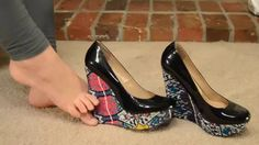 Opening A New Gift From a Fan Today! - High Heel Multi Colored Wedge Pumps