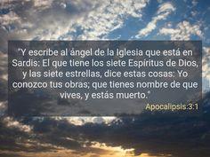 Apocalipsis 3:1