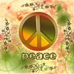 Kn Peace Sign Art
