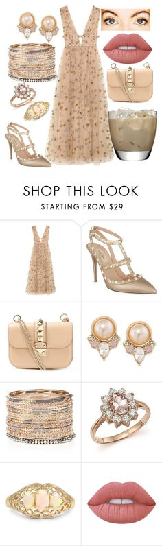"""""""Untitled #171"""" by conformtouskids on Polyvore featuring Valentino, Carolee, Accessorize, Bloomingdale's and Lime Crime"""