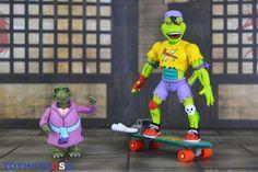 #NECAToys #TeenageMutantNinjaTurtles Mondo Gecko & Kerma Figures Review #TurtleTuesday #NECA #TMNT Teenage Mutant Ninja Turtles, Tmnt, Ronald Mcdonald, Fictional Characters, Toys, Fantasy Characters, Ninja Turtles