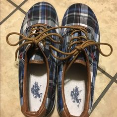 Polo tennis shoes. Polo tennis shoes. Charlie style name. Size 9. Used but good condition. Polo by Ralph Lauren Shoes Sneakers